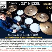 Masterclass et Clinic de Jost Nickel
