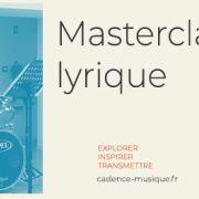 Masterclasse lyrique