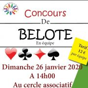 Tournoi de Belote