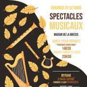 Spectacles musicaux à la Bresse