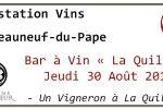 degustation vins chateauneuf-du-pape