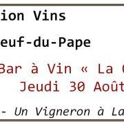 Dégustation Vins Châteauneuf-du-pape