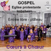Coeurs à Choeur chante du gospel