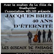 Jacques Brel : 40 ans d\'éternité