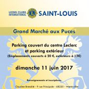 Grand Marché aux Puces à Saint-Louis 2018