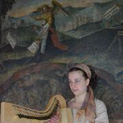 La musique scandinave, chant et harpe celtique