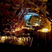 Restaurant éphémère au coeur de la Terre au Parc Minier Tellure