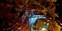 restaurant ephemere au coeur de la terre au parc minier tellure
