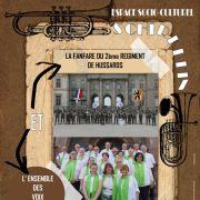 Concert des Voix du C(h)oeur et de la Fanfare du 2ème Régiment de Hussards