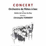 Concert de l\'Orchestre de flûtes à bec du Bas-Rhin
