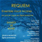 Requiem par l\'Ensemble vocal ARCANES