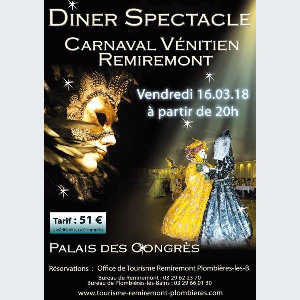 D ner spectacle du carnaval v nitien de remiremont soir e - Office du tourisme remiremont ...
