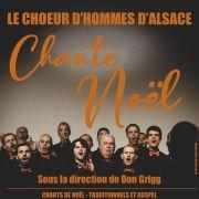 Le Choeur d\'Hommes d\'Alsace chante Noël
