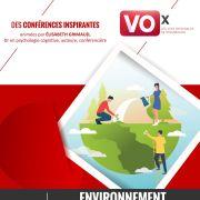 Conférence Vox (Voix originales de Strasbourg) : L\'environnement