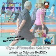 Sport au CSC Créaliance : Gym d\'entretien