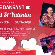 Thé dansant de la St Valentin avec Santa Rosa