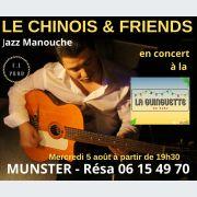Le Chinois & Friends en concert à la Guinguette du Parc