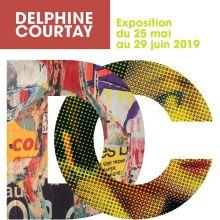 Jacques Villeglé & Jean Faucheur à la galerie delphine courtay