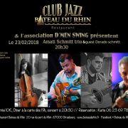 Amati Schmitt Trio & guest Dorado Schmitt