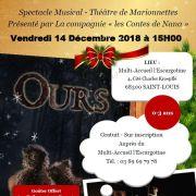 Ours Spectacle Musical - Théâtre de Marionnettes