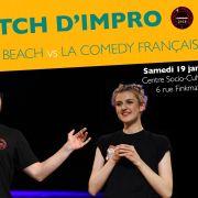 Match d\'impro : Sons of the Beach vs La Comedy Française