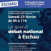 Le grand débat national à Eschau