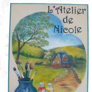 Atelier de Nicole : atelier de peinture