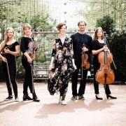 Quatuor à cordes Tobalita et chanteuse Charlotte Haesen