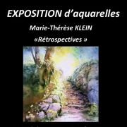Exposition d\'aquarelle Marie Therese Klein