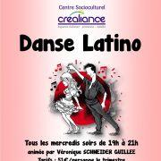 Danse latino et rock au CSC Créaliance