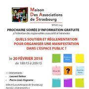 Soirée d\'info : organiser une manifestation associative dans l\'espace public
