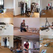 Menschen im Museum # gemeinsam # lebendig # kreativ / l\'homme au musée # ensemble # vivant # créatif