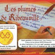 Calligraphie gothique - Les plumes de Ribeauvillé