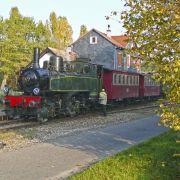 Trains du dimanche en automne