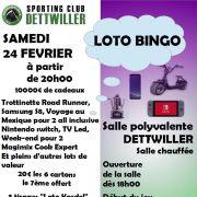 Loto bingo du Sporting Club Dettwiller