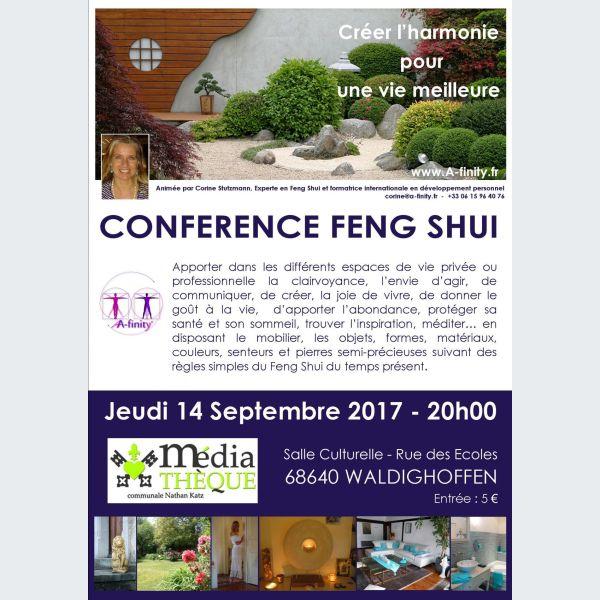 Objet Feng Shui le feng shui - waldighoffen - conférence - salle culturelle