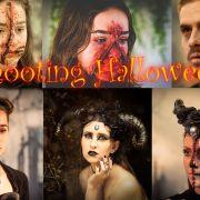 Séance shooting photo Halloween avec maquillage