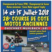 28ème Course de côte Motos anciennes du Gaschney 2018