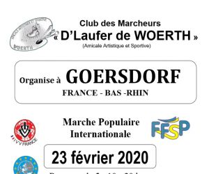 Marche populaire internationale IVV/FFSP