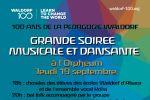 100 ans de la pedagogie waldorf : grande soiree musicale et dansante