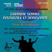100 ans de la pédagogie Waldorf : grande soirée musicale et dansante