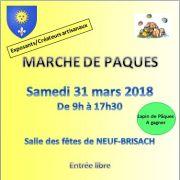 Marché de Pâques de Neuf-Brisach 2018