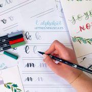 Atelier Lettering - Spécial Noël