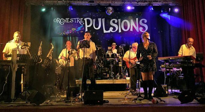 L\'Orchestre Pulsions en pleine action