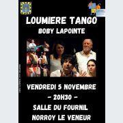 Loumière Tango-Boby Lapointe