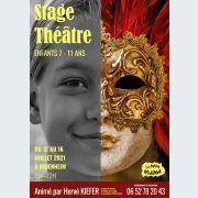 Stage théâtre enfants du 12 au 16 juillet 2021 à La Petite Echarde de Didenheim