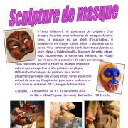 Sculpture de masque