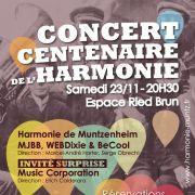 Concert du centenaire de l\'Harmonie