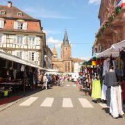Marché des Quatre Temps à Wissembourg