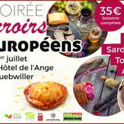 Soirée des terroirs européens